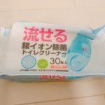 100均 キャンドゥ購入品 『流せる銀イオン除菌トイレクリーナー』