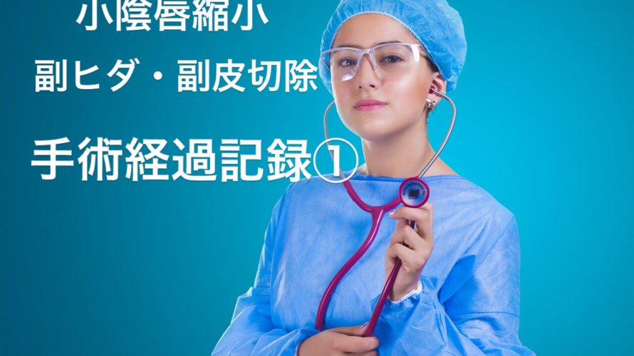 女性の悩み【小陰唇縮小、副ヒダと副皮切除手術をしました!】